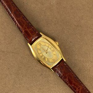 Seiko Accessories - Seiko Gold Watch Beautiful Decorative Floral Face